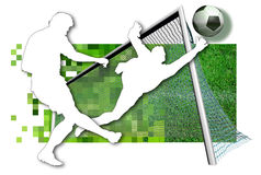 Soccer players Royalty Free Stock Photos