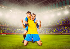 Soccer players Stock Photos