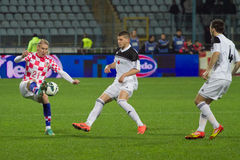 Soccer players - Domagoj Vida Stock Image