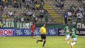 Soccer Players Passing Ball. Stock video of soccer players passing ball stock video footage