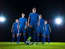 Soccer players team Royalty Free Stock Photography