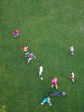 Soccer players, Vienna Royalty Free Stock Photo