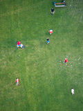 Soccer players, Vienna Royalty Free Stock Photos