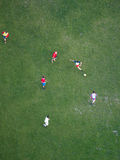 Soccer players, Vienna Stock Image