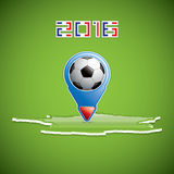 Soccer pointer Stock Images