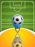 Soccer pointer Stock Images