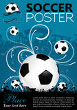 Soccer Poster Stock Images