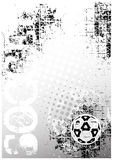 Soccer poster background 1 Stock Image