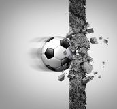 Soccer Power Stock Photo