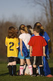 Soccer Practice Stock Photo