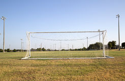 Soccer practice field Royalty Free Stock Images