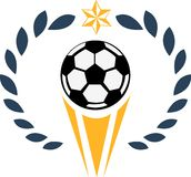 Soccer Prize Royalty Free Stock Images