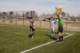 Soccer Ref Royalty Free Stock Photography