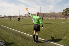Soccer Ref Royalty Free Stock Images