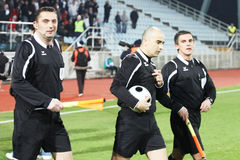 Soccer referee Stock Photos