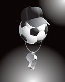 Soccer referee Stock Images
