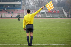 Soccer referee Royalty Free Stock Photography