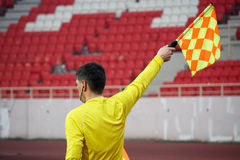 Soccer referee Royalty Free Stock Photos