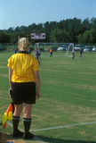 Soccer referee / official Royalty Free Stock Photography
