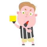 Soccer  referee Royalty Free Stock Image