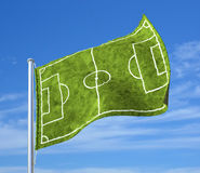 Soccer republic Royalty Free Stock Image