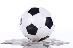 Soccer a rich sport Royalty Free Stock Photos