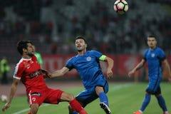 Soccer Romania's Liga 1 – Dinamo Bucharest vs. CSM Iasi Royalty Free Stock Images