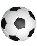 Soccer score, outlined. Soccer ball on a white background, outlined Stock Image