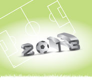 Soccer season Stock Images