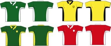 Soccer Shirts Stock Photos