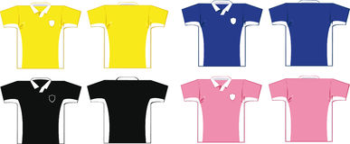 Soccer Shirts Stock Photography