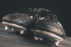 Soccer shoes Royalty Free Stock Image
