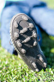 Soccer shoes sole Royalty Free Stock Photo