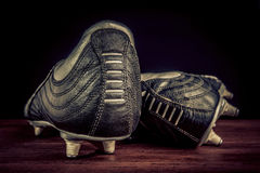 Soccer shoes Stock Photos