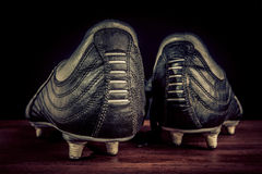 Soccer shoes Stock Photography