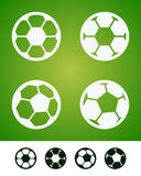 Soccer sign Royalty Free Stock Photo