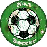 Soccer sign Stock Photo