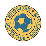 Soccer sign vector set. Royalty Free Stock Photography