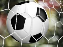 Soccer. Ball football goal ball net sport royalty free illustration
