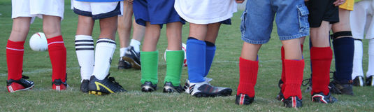 Soccer Socks Royalty Free Stock Photography