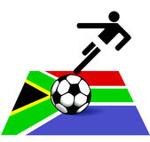 Soccer in South Africa Stock Photos