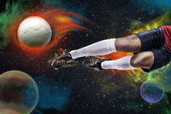 Soccer space Royalty Free Stock Image