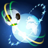 Soccer space Stock Photo