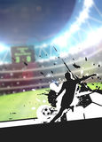Soccer sport background Royalty Free Stock Images