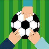 Soccer sport Royalty Free Stock Photo