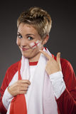 Soccer Sport Fan Supporter England Stock Photos