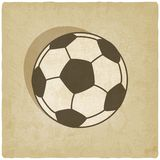 Soccer sport old background Stock Photography