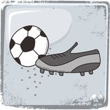 Soccer sports theme Royalty Free Stock Photo