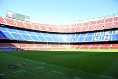 Soccer stadium Royalty Free Stock Images