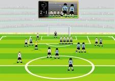 Soccer stadium. Royalty Free Stock Photo
